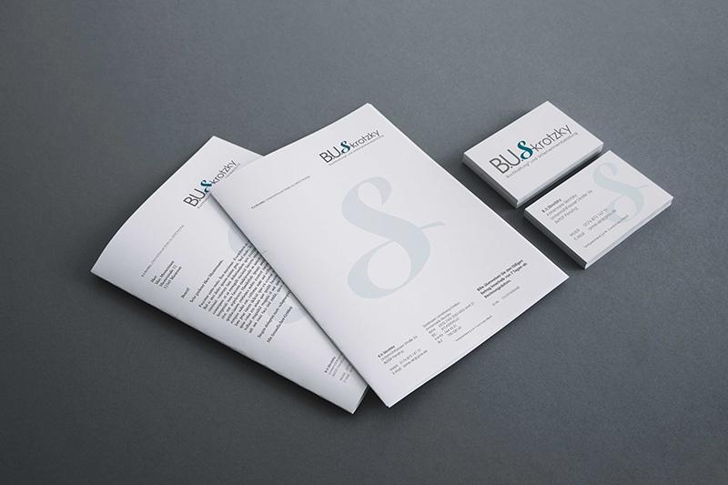 printandgraphic - Werbeagentur - Buchhaltungsbüro - Logoentwicklung, Briefpapier, Visitenkarten