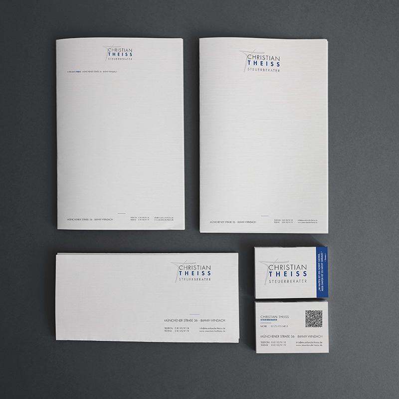 printandgraphic - Werbeagentur - Steuerberater - Logoentwicklung, Briefpapier, Visitenkarten, Notizkarte