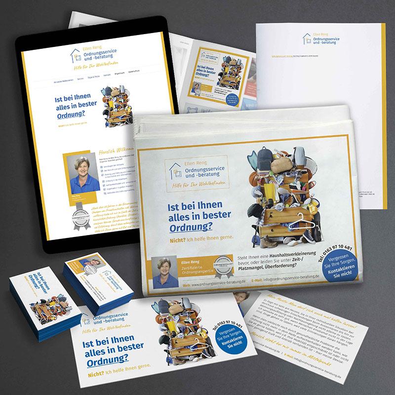 printandgraphic - Werbeagentur - Ordnungsservice und -beratung - Logoentwicklung, Homepage, Visitenkarten, Werbeanzeigen